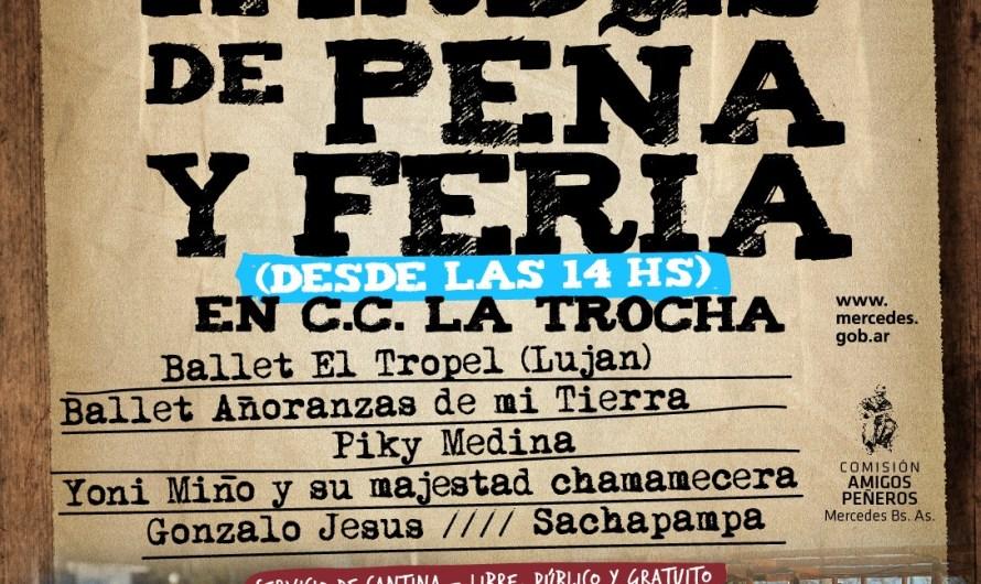 Fin de semana con peña gratis en La Trocha