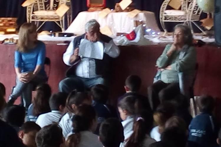 La Biblioteca Sarmiento difundiendo la lectura en las escuelas