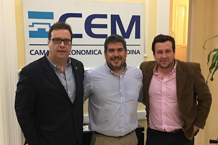 Empresarios mercedinos se reunieron con representantes de la Cámara Empresarial de Maldonado