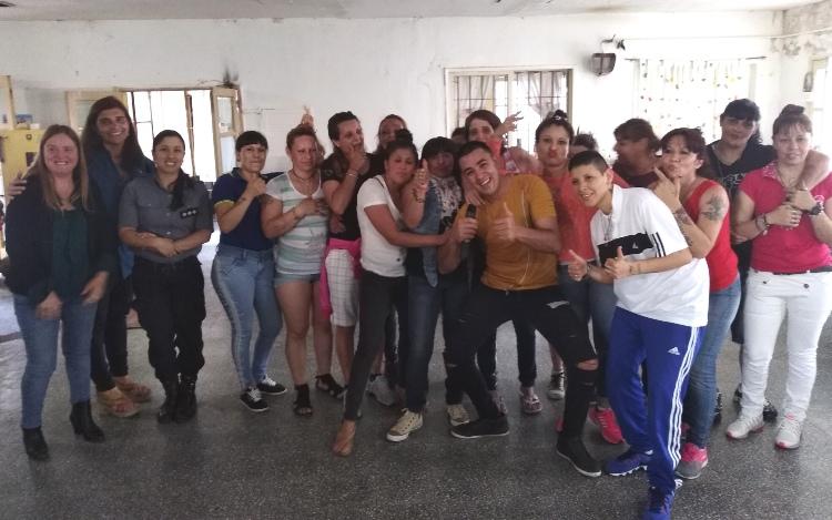 Celebración del Día de la Madre en el Anexo Femenino del penal