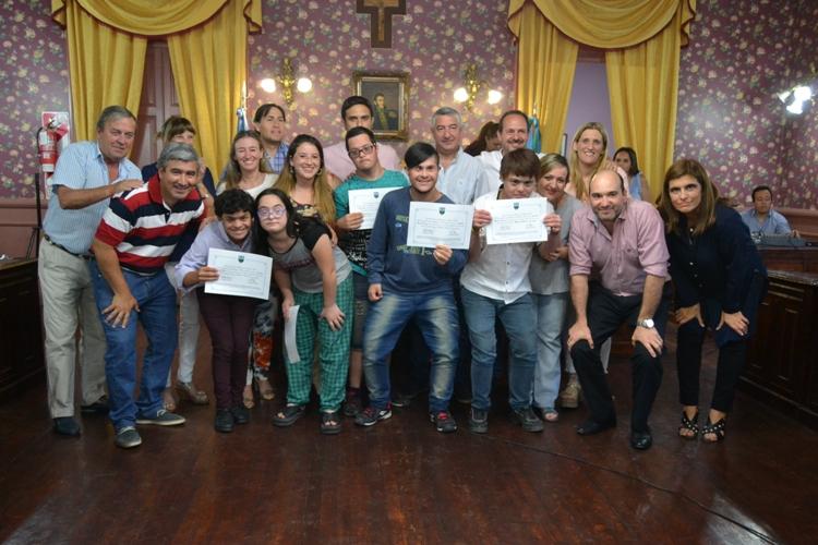 HCD distinguió a juveniles que participaron en los torneos bonaerenses