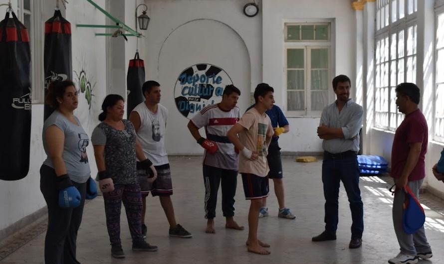 La Escuela Municipal de Boxeo continúa afirmándose en Mercedes