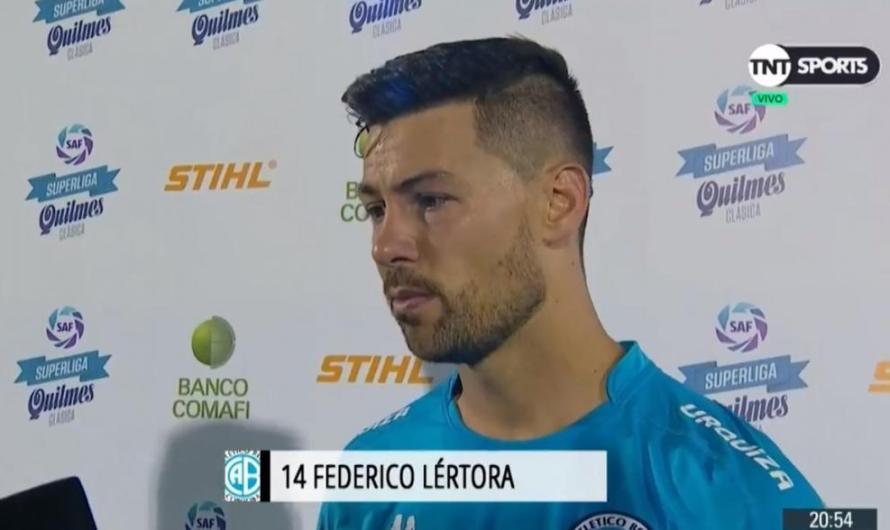 Federico Lértora: «Nos pesa la situación»
