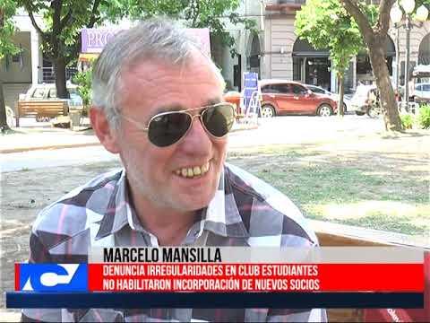 Marcelo Mansilla: «Estoy teniendo demasiados obstáculos para lograr confirmar la aceptación de la lista»