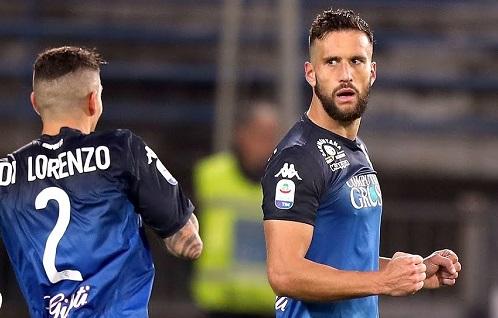 Matías Silvestre le dio la victoria al Empoli, que salió del descenso (video)