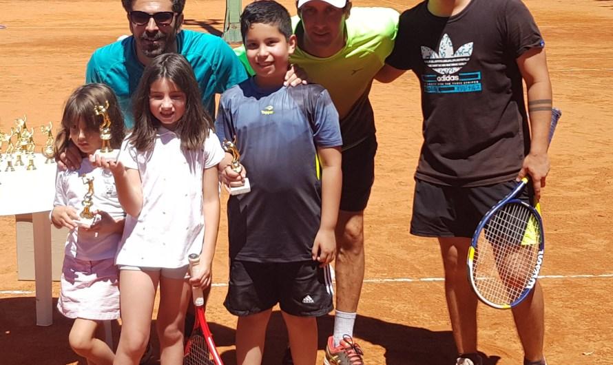 Se realizó un festival de tenis en la Liga de Padres de Familia (Galería de Fotos)