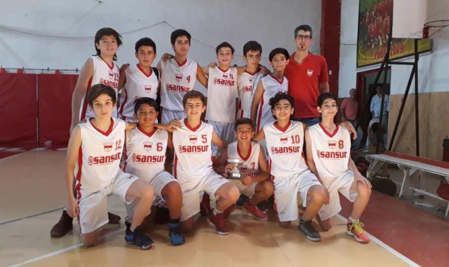 Basquet Inferiores: Quilmes terminó tercero en U13