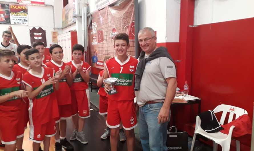 Basquet Inferiores: Quilmes se quedó con la Copa de Plata en Mini