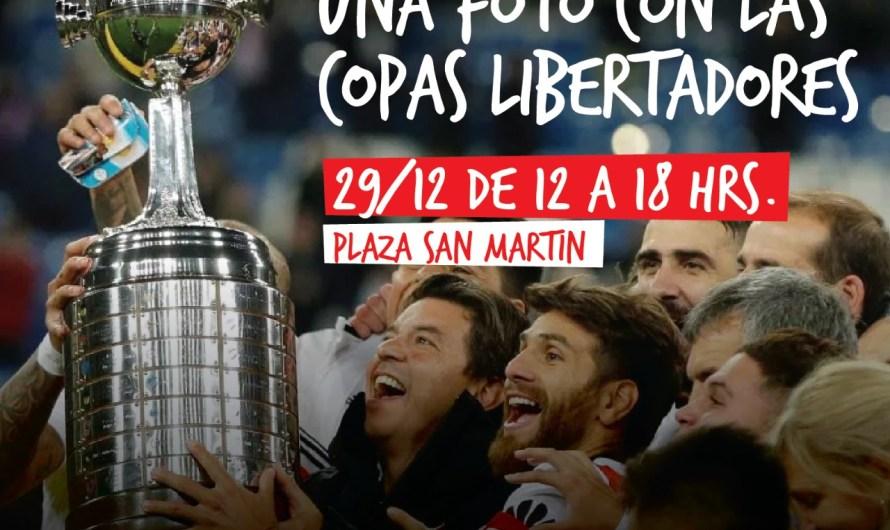 Filial de River Plate trae la Copa Libertadores a Mercedes