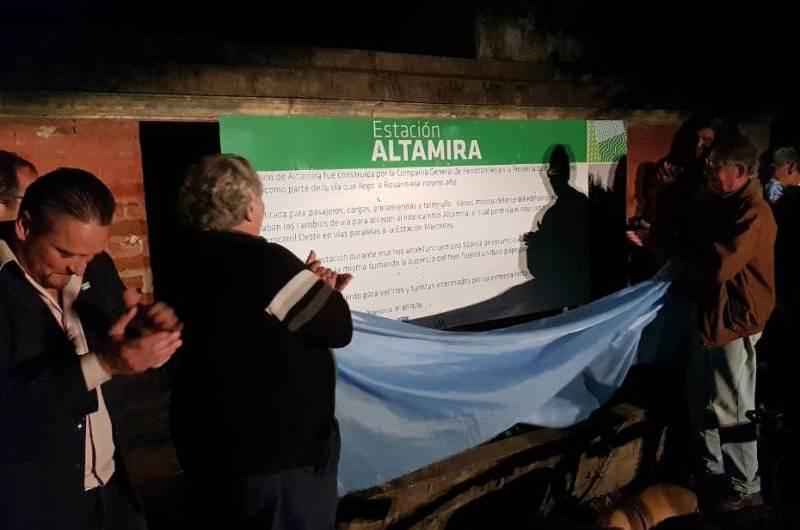 Estación de Trenes de Altamira de interés patrimonial para Mercedes