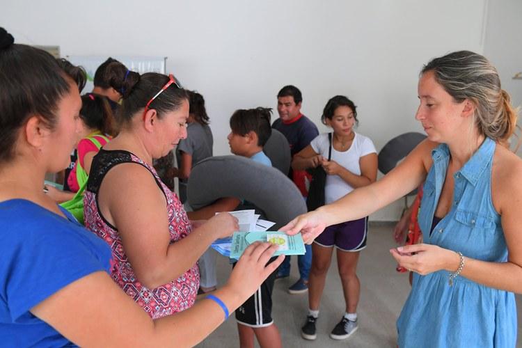 Inició curso de pre parto y lactancia en Bo. San José
