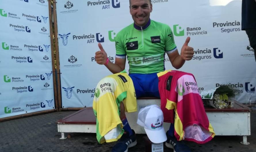 Federico Vivas se quedó con el Sprint de Giles y la Primera Etapa de la Doble Bragado