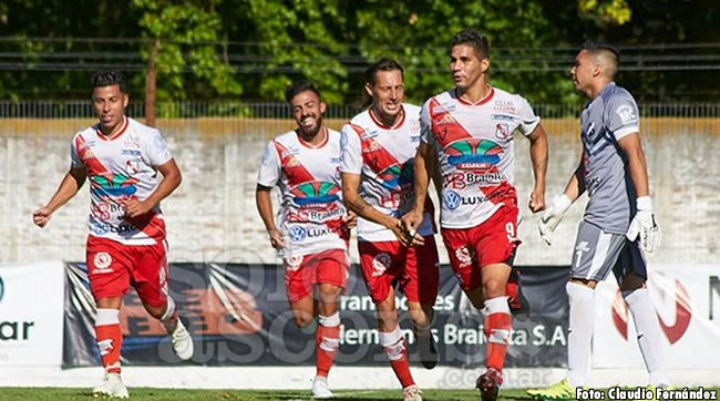 Gol de Gonzalo Pérez en la victoria de Luján a Lamadrid (video)