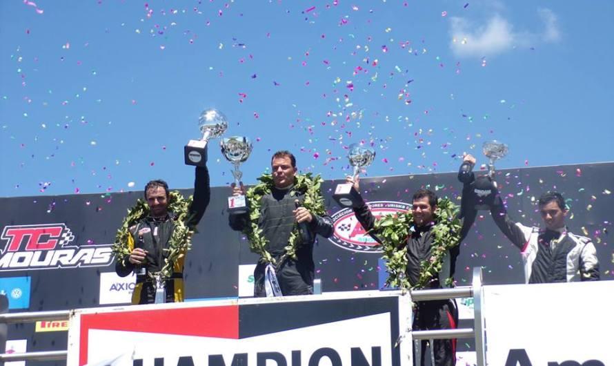 Javier Funcia hizo podio en la primera carrera del año