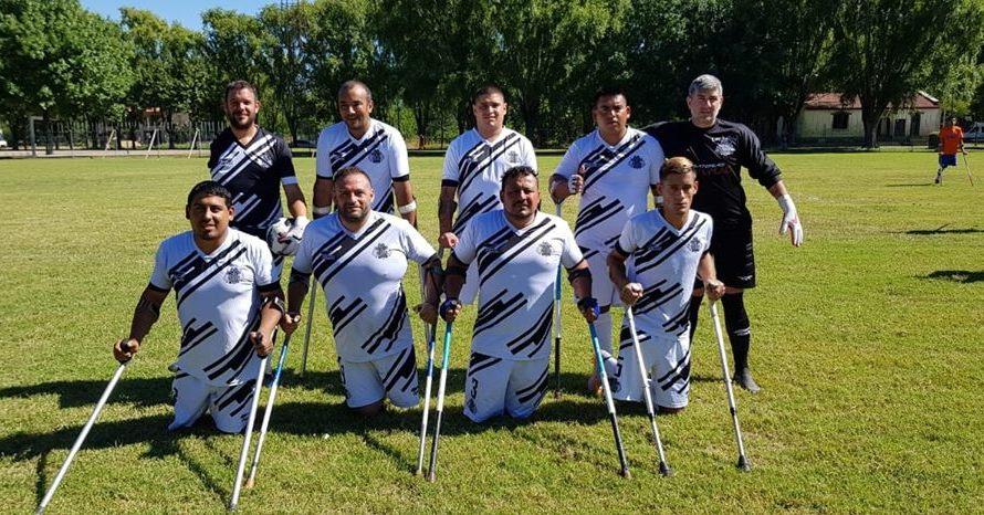 Defelippe e Iñíguez culminaron su participación en el torneo Nacional de Amputados