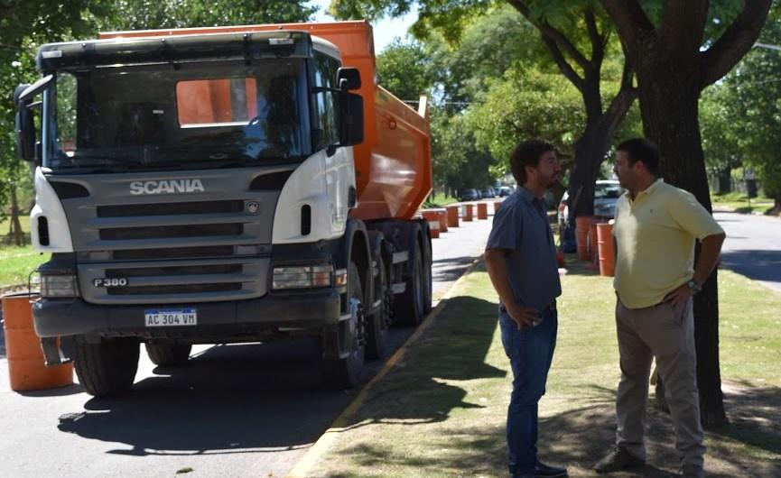 Municipio comenzó la obra de re pavimentación de Avenida 2