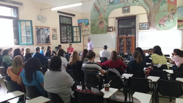 Reinició la formación pedagógica que impulsa UDocBA