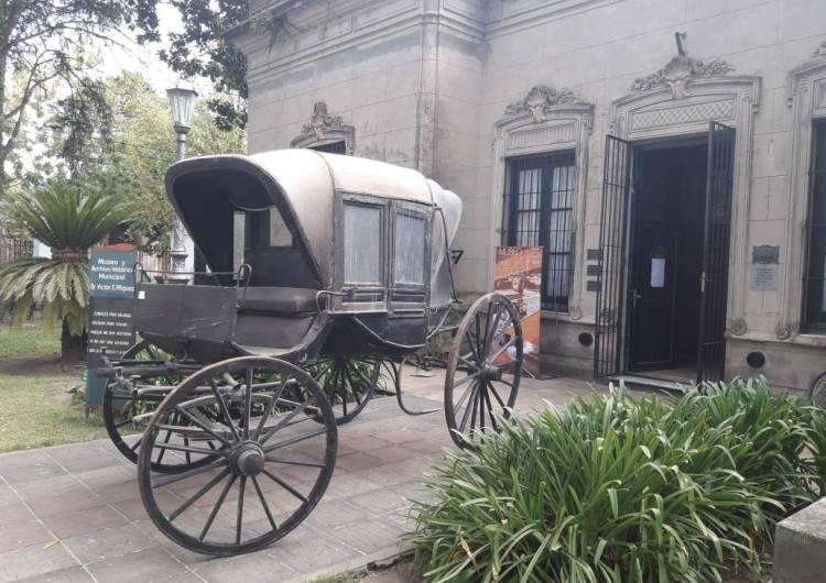 El carruaje del Miguez fue a San Antonio de Areco para su restauración