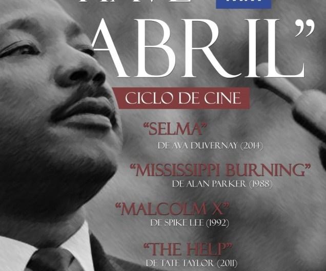 Ciclo de Cine homenaje a Martin Luther King
