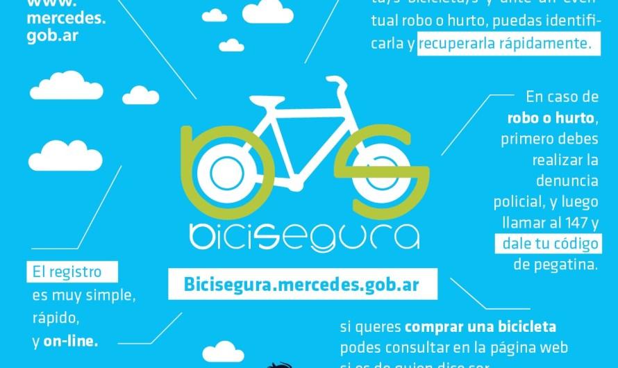"""""""Bici Segura"""" el nuevo programa de seguridad presentado por el Municipio"""
