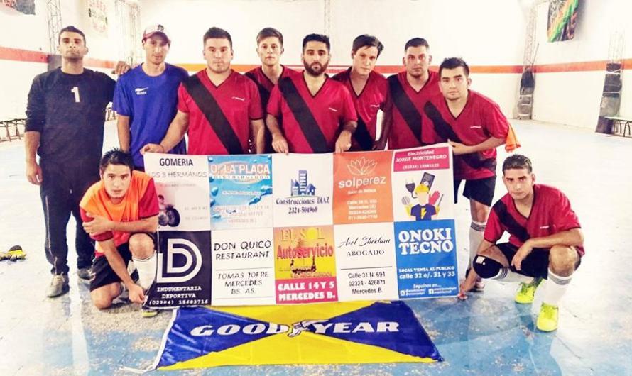 En la segunda fecha, un triunfo y una derrota para la Escuela de Futsal mercedina