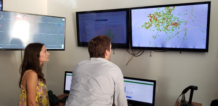 Arrancó el mapa digital y estadístico del Observatorio de Seguridad Ciudadana