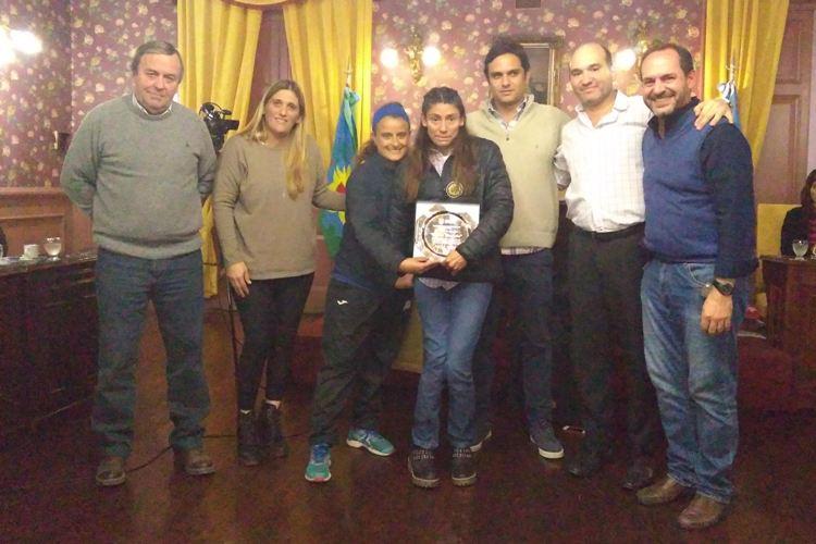 Romina Fernández reconocida por el HCD