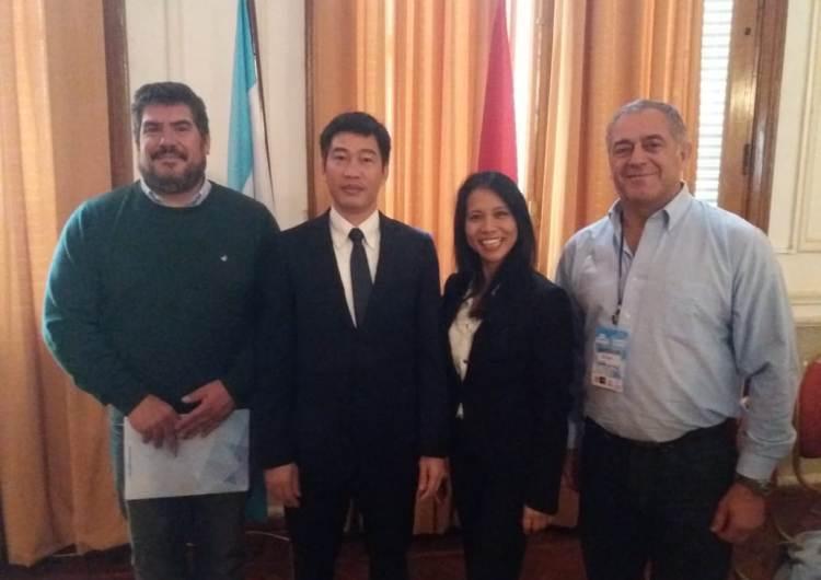 La CEM participó de la reunión con el Cónsul de Vietnam en Pehuajó