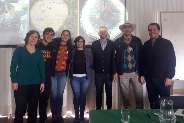 Espacios Verdes participa de capacitación en UNLu