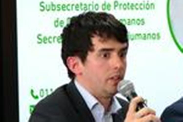 Sebastián Pereiro en la Escuela de Formación Política