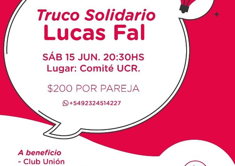 Truco solidario a beneficio del club Unión y el Colegio Nacional