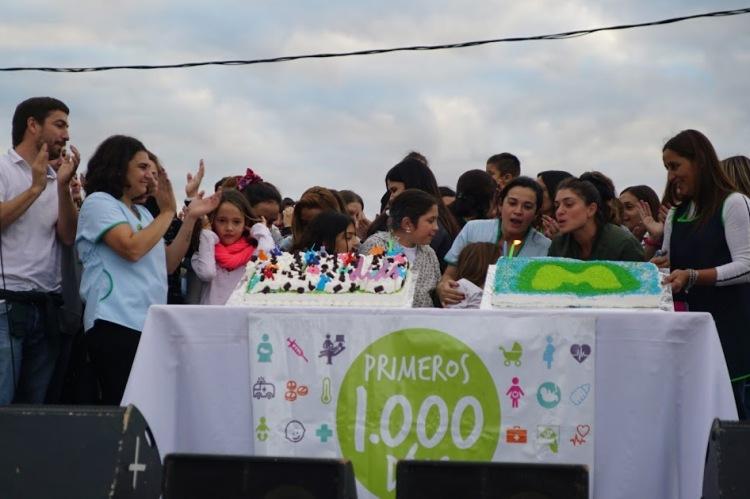 Celebraron los dos años del Programa Mil Días
