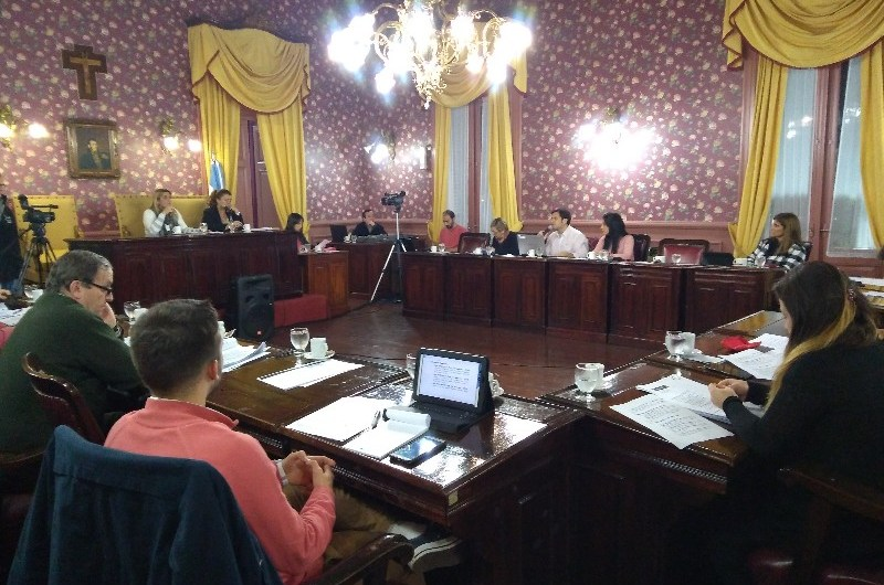 Breve sesión en el Concejo Deliberante