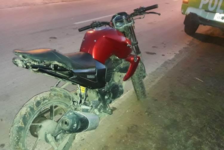 Prevención: Policía divisa y secuestra moto con numeración adulterada