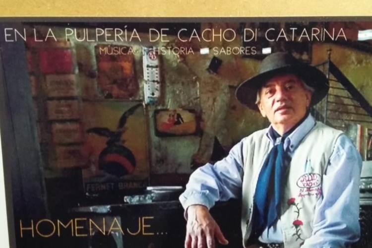 Homenaje al Pulpero Cacho a diez años de su fallecimiento