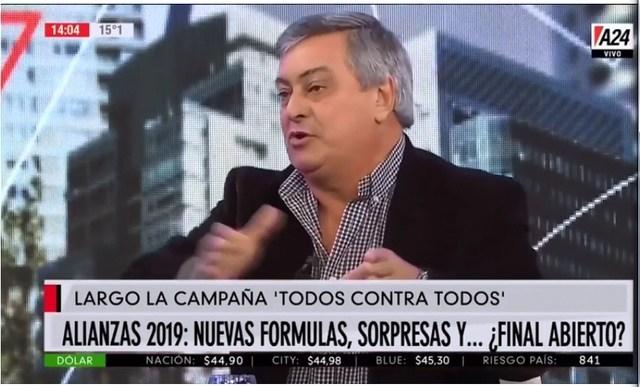"""Selva: """"El Fondo Monetario le está financiando la campaña a Macri"""""""