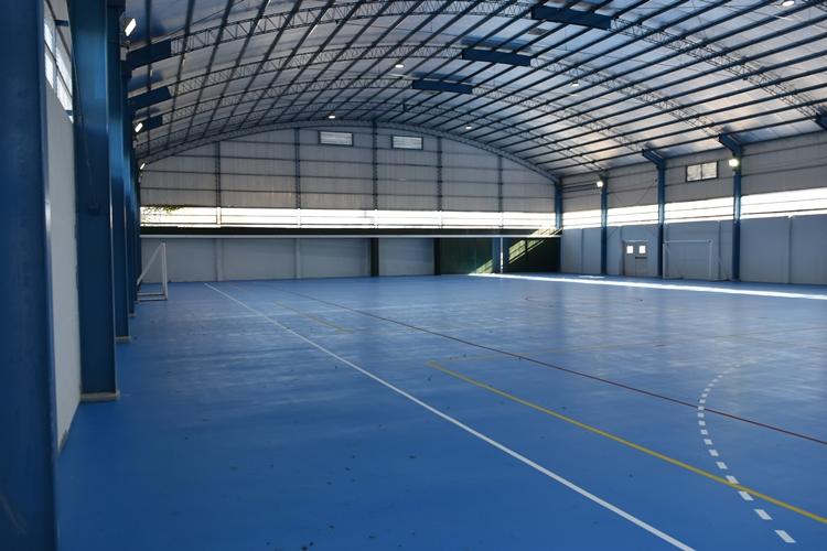 El jueves se inaugura el nuevo gimnasio del CEF N°40