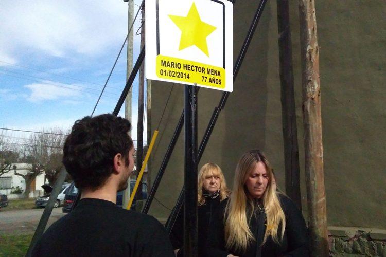 Mario Mena fue recordado por su familia con una Estrella Amarilla
