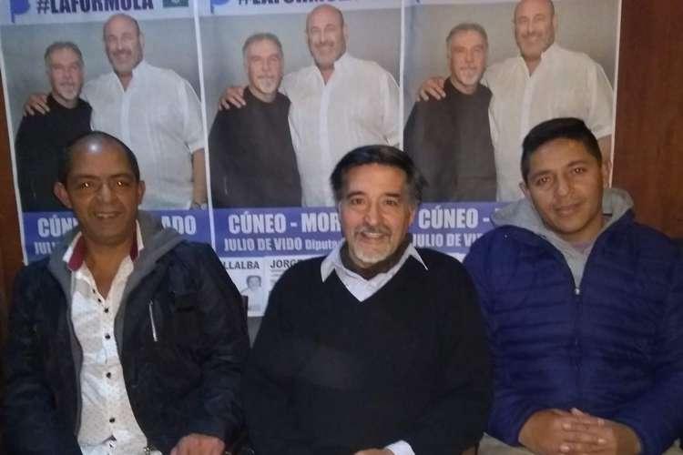 El Pastor Jorge Villalba encabeza lista con precandidatos del CEJUS