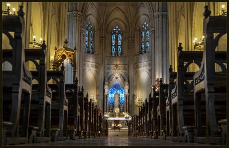Misa aniversario de Basílica Catedral presidida por Radrizzani