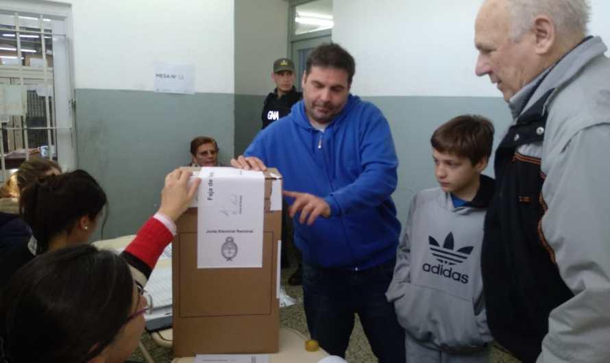 """Matías Dematei: """"Es muy lindo que se vote con amor y no con odio"""""""