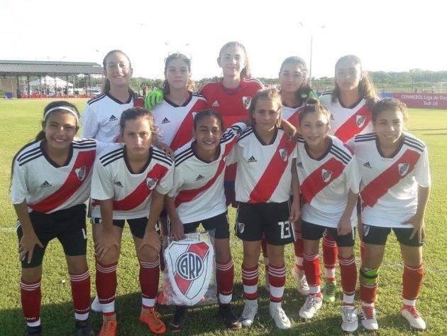 Juana Cángaro y Nazarena Viola jugarán la Liga Desarrollo con River Plate