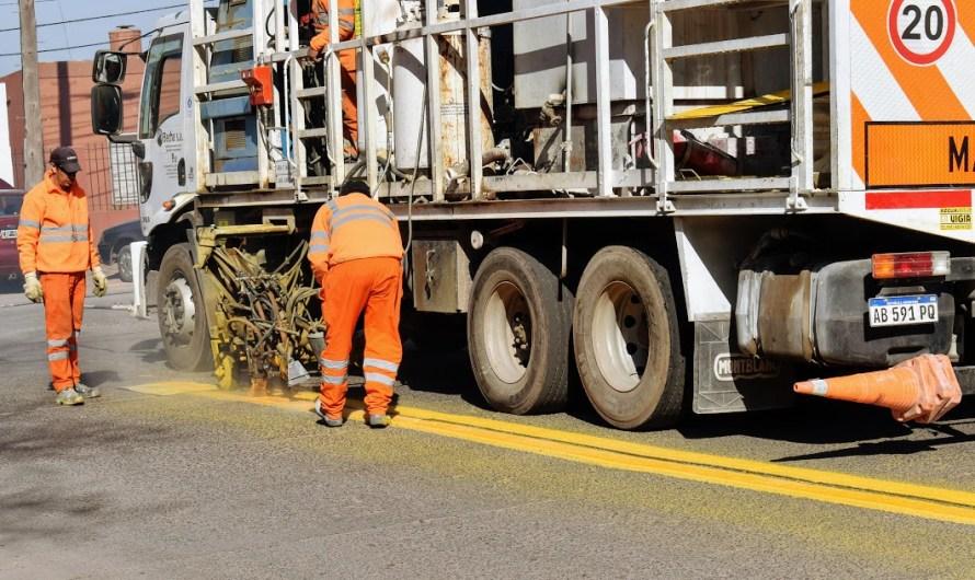 Municipio avanza con demarcación vial