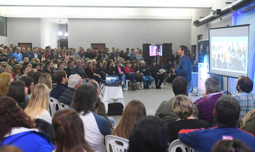 Ustarroz presentó propuestas y acciones con miras al futuro