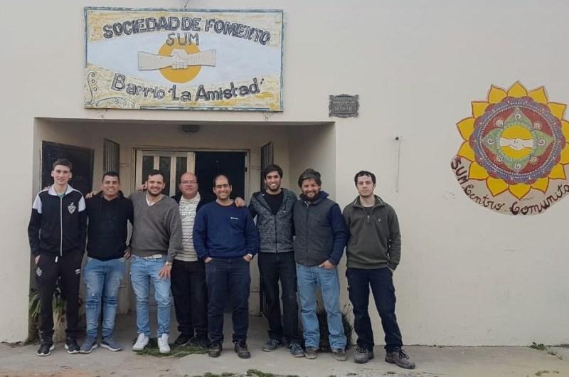 Programa de oficios en la Barrio La Amistad