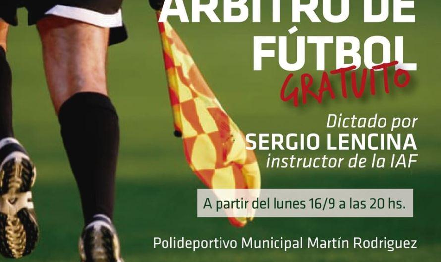 En el Martín Rodríguez habrá un curso de árbitros