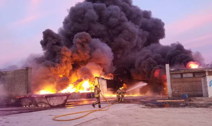 Video: Gran incendio en La Verde