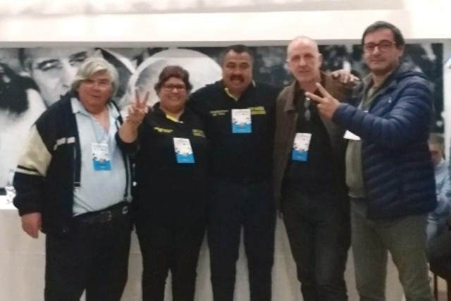 Delegación local participó del Congreso de la Federación de Conductores de Taxis