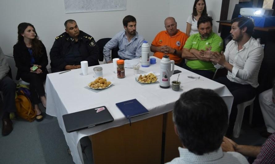 Importante reunión de trabajo entre Observatorio de Seguridad Comunal y Dirección del Observaría Vial Provincial