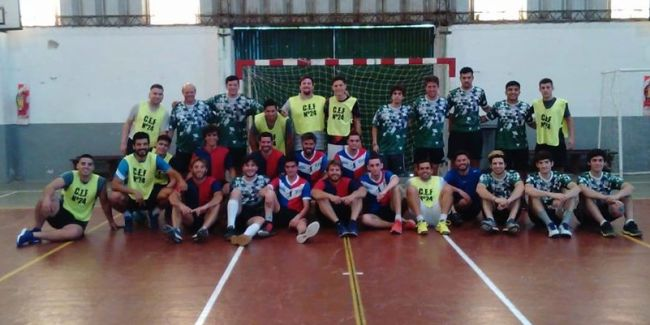 Triangular de handball en San Andrés de Giles